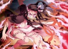 Kimetsu no Yaiba: Mê mẩn khi ngắm vẻ đẹp hóa quỷ của Nezuko, chân dài ngực khủng lại còn sắc sảo