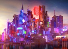 Khâm phục game thủ đã dựng cả thế giới Cyberpunk 2077 trong Minecraft