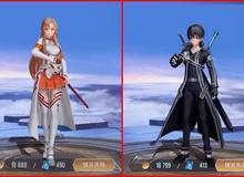"""Liên Quân Mobile: Game thủ nghi Garena """"bơm giá"""" Kirito và Asuna cực khéo trước khi thương mại hóa"""