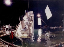 Những hình ảnh hậu trường thú vị chưa bao giờ công bố của Titanic