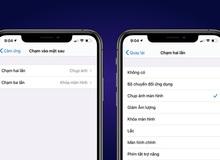 iOS 14 cho phép người dùng 'gõ vào lưng iPhone' để khoá máy, chụp ảnh màn hình, về Home...