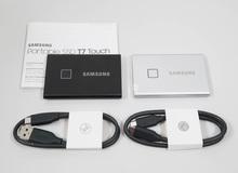 """Samsung T7 Touch - SSD di động chuyên lưu trữ game và """"tài liệu học tập"""" cho game thủ"""