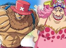 """One Piece chapter 981: Big Mom nháy mắt đầy """"tình tứ"""" với Chopper, các fan thi nhau """"đẩy thuyền"""""""