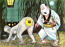 """Những ma quỷ """"tấu hài"""" trong thần thoại Nhật Bản: Lúc mắt mọc dưới mông, lúc lại cười không dứt"""