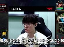 LMHT: Faker cho rằng mỗi lần mất xe là bạn sẽ mất 0,6% tỉ lệ thắng trong trận đấu