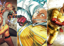 """Loạt tranh cực đỉnh về Saitama- """"thánh phồng"""" sở hữu cú đấm """"phát chết luôn"""" trong thế giới One Punch Man"""