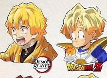 Kimetsu no Yaiba: Zenitsu biến hóa khôn lường khi được vẽ lại theo phong cách của các bộ anime nổi tiếng