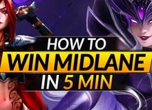LMHT: 3 mẹo vô cùng đơn giản giúp bạn thắng tất cả kèo đấu ở Mid chỉ trong 5 phút