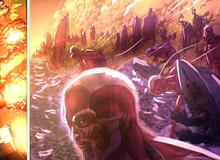 Điểm qua những chi tiết điên rồ nhất trong chương mới nhất của Attack on Titan
