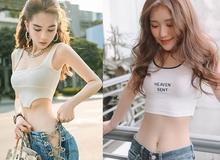 """Hết bị Vũ Khắc Tiệp """"bóp team"""", Ngọc Trinh lại vừa mất trắng danh hiệu """"đệ nhất vòng eo Showbiz"""" bởi hot girl """"trẻ măng"""" này"""