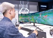 """Game thủ """"đứng hình"""" khi trải nghiệm màn hình gaming cong Odyssey G7 và G9 mới của Samsung"""