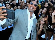"""Chán đóng phim, """"The Rock"""" Dwayne Johnson trở thành hot Instagram, đăng nhẹ một bài quảng cáo cũng kiếm hơn 20 tỷ"""