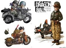 Dragon Ball: Nguồn gốc của chiếc Scouter hé lộ sự yêu thích của tác giả Akira Toriyama với quân sự