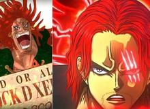 """One Piece: Tứ Hoàng Shanks và 4 nhân vật trong diện tình nghi là """"hậu duệ"""" của Rocks D. Xebec"""
