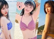 """Khi dàn nữ streamer thả dáng với bikini, không vòng eo """"con kiến"""" thì cũng vòng 3 cực nóng bỏng!"""
