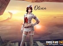 Hình ảnh Olivia trong thực tế và câu chuyện về nữ y tá gợi cảm trong Free Fire