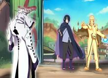 """Boruto chapter 48: """"Bản sao"""" của Jiraiya gặp nguy hiểm, Otsutsuki Isshiki tung hết sức mạnh tấn công Làng Lá"""