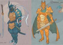 Khi Pokemon trở thành kiếm sĩ samurai sẽ trông như thế nào?