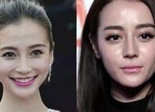 Choáng trước nhan sắc thật của mỹ nhân Hoa ngữ qua hình chưa được chỉnh sửa: Angela Baby hay Địch Lệ Nhiệt Ba đều rất khác