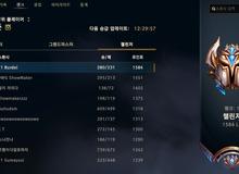 Lại thêm một thành viên của T1 soán ngôi top 1 Thách Đấu Hàn Quốc