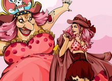 """One Piece: Ngắm Big Mom thời trẻ xinh đẹp như hoa lại thấy """"ăn lắm, đẻ nhiều"""" hại thân quá!!!!"""