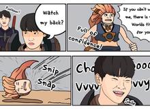 Lại chuyện 'gáy láo': Đăng tranh minh họa 'chặt đầu' đối thủ, DragonX bị cả cộng đồng LMHT tẩy chay