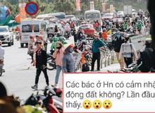 Nhiều người dân Hà Nội hoang mang vì nhà rung lắc mạnh vào giữa trưa, nghi chịu dư chấn từ trận động đất ở Sơn La