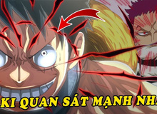 One Piece Chap 986: Nhờ haki quan sát cấp cao, việc Cửu Hồng Bao tấn công Kaido đã được Luffy thấy từ trước?