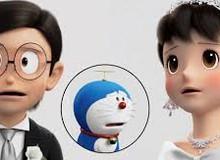 """Ơn trời cuối cùng Nobita - Shizuka cũng kết hôn, fan chuẩn bị khăn giấy để """"khóc lết"""" với Doraemon đi là vừa!"""