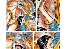 """One Piece: Vuốt má thợ đóng tàu đầy tình cảm, các fan tích cực """"đẩy thuyền"""" cho Robin đến với Franky"""