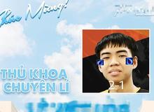 Yoshino bất ngờ được hô biến thành 'thủ khoa chuyên Lí' của một trường THPT danh tiếng