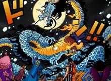 One Piece: Kaido hóa rồng khiến các fan liên tưởng tới Rồng thần trong Dragon Ball