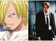 """One Piece: """"Thánh mê gái"""" Sanji và 7 nhân vật được lấy cảm hứng từ những diễn viên nổi tiếng ngoài đời thật"""