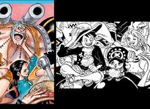 One Piece: Giống như Robin vuốt má Franky, Luffy và Nami đã từng cười với nhau say đắm