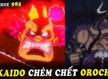 One Piece: Một phát chém bay đầu Orochi nhưng liệu Kaido còn nhớ 5 thành tựu mà gia tộc Kurozumi đã giúp mình hay không?