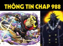 Spoiler One Piece chap 988: Sanji tàng hình cứu Momonosuke, King Hỏa Hoạn ra tay ngăn cản