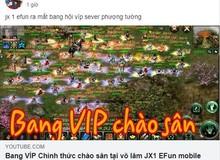 Hàng trăm Bang Hội được thành lập trong Jx1 Efunvn Mobile - Ký ức Võ Lâm Truyền Kỳ chưa bao giờ sống động đến thế