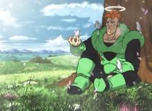 Dù bị coi là 1 sản phẩm thất bại nhưng số 16 chính là nhân vật phản diện có lòng nhân từ nhất Dragon Ball