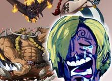 """One Piece 988: Nghe tin Sanji phải đấu với King hỏa hoạn trong chap mới các fan cho rằng """"toang rồi anh Sạn ạ"""""""