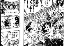 """One Piece 988: Đòi giết Nami vì dám """"dụ dỗ"""" Zeus, Big Mom bị Franky tông thẳng xe máy """"Tê Giác Đen"""" vào mặt"""