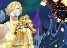 """One Piece 988: Sanji so găng với King Hỏa Hoạn để cứu con trai Oden, phải chăng đã đến lúc """"thánh nhọ"""" tỏa sáng?"""