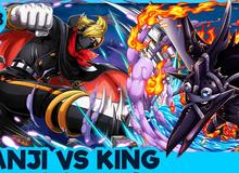 One Piece: Ba yếu tố quyết định ai là người thắng trong trận chiến giữa King Hỏa Hoạn và Sanji?