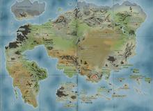 Bản đồ thế giới Dragon Ball trông sẽ như thế nào?