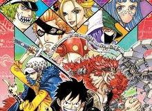 Bộ ba Siêu Tân Tinh và Tobi Roppo xuất hiện cực đẹp trên trang bìa One Piece tập 97