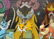 Pokemon: Liệu bộ ba Siêu thú Huyền thoại có phải từng là các dạng tiến hóa của Eevee hay không?