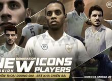 NÓNG: Dàn huyền thoại đương đại Rio Ferdinand, Essien, Pep, Ronaldinho, vv… chính thức ra mắt bộ thẻ ICONS trong FIFA Online 4