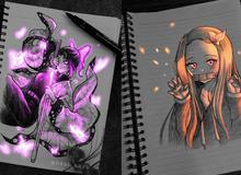 """Siêu ấn tượng trước loạt ảnh các nhân vật anime """"phát sáng"""", đỉnh cao của fanart là đây chứ đâu!"""