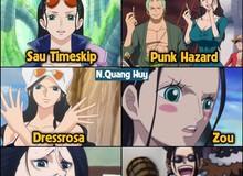 """One Piece: Robin và hành trình """"đánh mất hình tượng"""" khi gia nhập băng Mũ Rơm"""