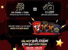 FIFA Online 4 tung sự kiện mừng Quốc Khánh cực HOT: Nhân đôi lượt mở quà, 100% sở hữu free thẻ Việt Nam +8 và Mùa ICONS