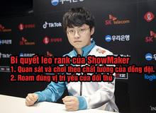 Khám phá bí quyết sở hữu 2 tài khoản trong top 10 Thách Đấu Hàn của ShowMaker